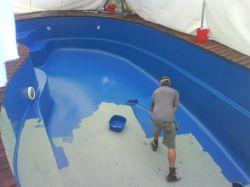 Recuperação reforma renovação e conserto de Piscinas de Fibra de vidro e caixas dágua