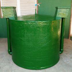 Biodigestor Chinês em fibra de vidro - produza biogás e biofertilizante