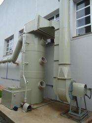 Lavador de gases industriais de fibra de vidro em Belo Horizonte BH MG - Engefiber