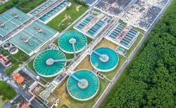 ETE Estação de Tratamento de esgoto, saneamento básico ambiental em Belo Horizonte BH MG