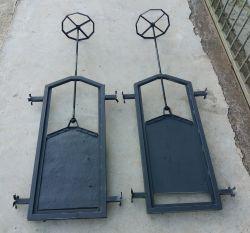 Comportas Stop Log em aço ou fibra de vidro por encomenda em Belo Horizonte BH MG - Engefiber- Engefiber