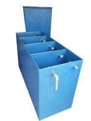 Caixas separadoras de água e óleo em fibra de vidro PRFV - Engefiber